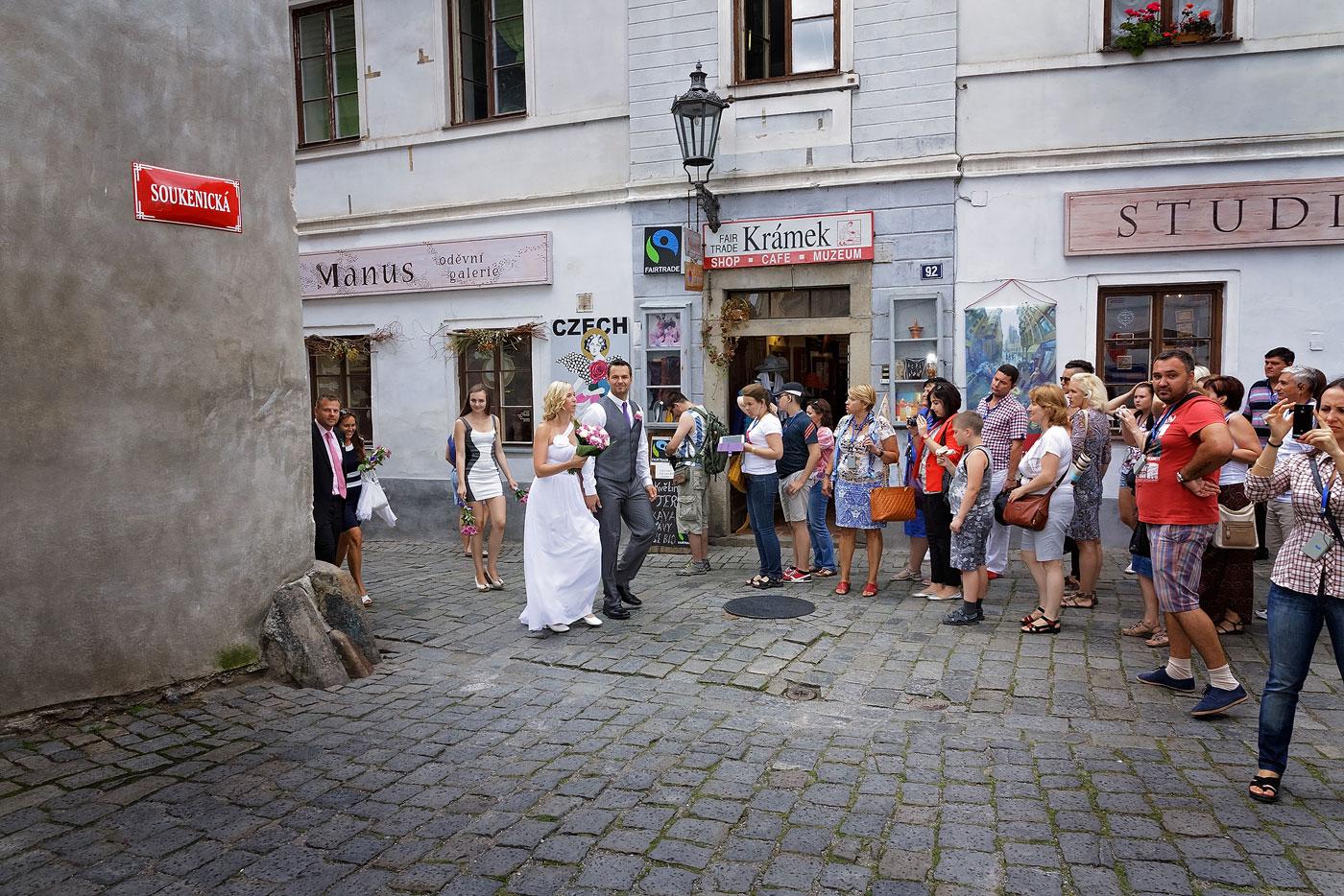 Svatba v Českém Krumlově