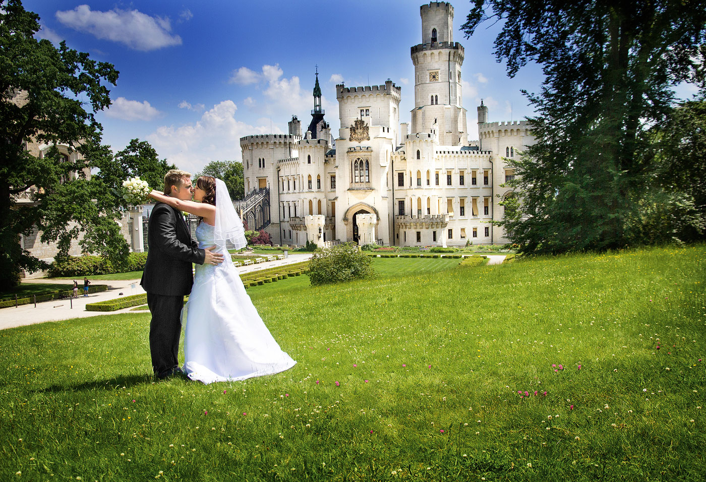 Svatba Hluboká nad Vltavou - svatební fotograf - D.Rataj
